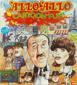 Allo Allo! Cartoon Fun!_Disk1 ROM
