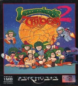 Lemmings 2 - The Tribes_Disk2 ROM