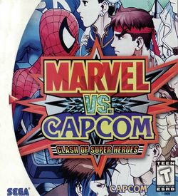 Marvel Vs. Capcom Clash Of Super Heroes ROM