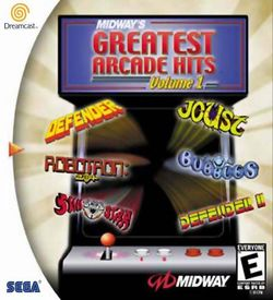 Midway's Greatest Arcade Hits Volume 1 ROM