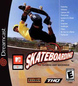 MTV Sports Skateboarding Featuring Andy Macdonald ROM