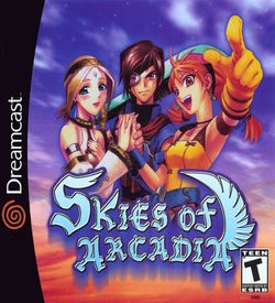 Skies Of Arcadia  - Disc #1 ROM