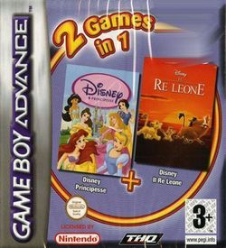 2 In 1 - Disney Principesse & Il Re Leone ROM