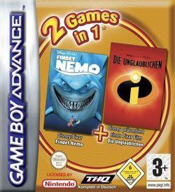 2 In 1 - Findet Nemo & Die Unglaublichen ROM