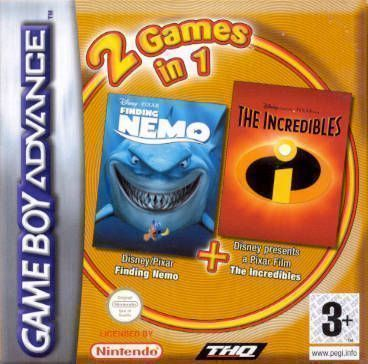 2 In 1 - Finding Nemo & The Incredibles (S)