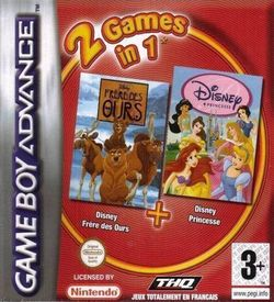 2 In 1 - Frere Des Ours & Disney Princesse ROM