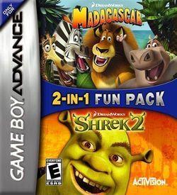 2 In 1 - Madagascar & Shrek 2 ROM