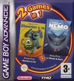 2 In 1 - Monsters En Co & Finding Nemo (N) ROM