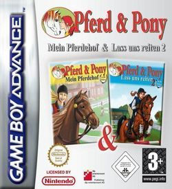 2 In 1 - Pferd And Pony (Mein Pferdehof) & Lass Uns Reiten 2 (sUppLeX) ROM
