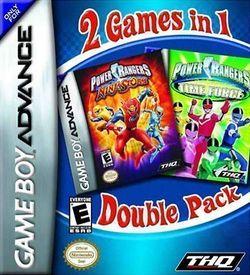 2 In 1 - Power Rangers - La Force Du Temps & Ninja Storm ROM