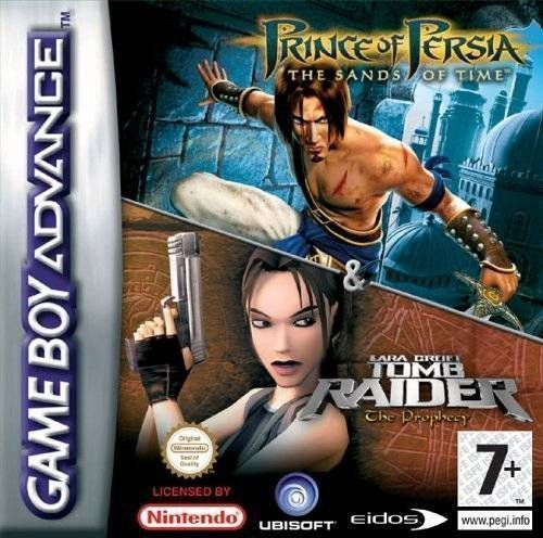 2 In 1 - Prince Of Persia - The Sands Of Time & Tomb Raider - The Prophecy