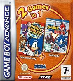 2 In 1 - Sonic Pinball Party & Sonic Battle ROM