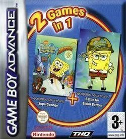 2 In 1 - SpongeBob Squarepants - Supersponge & Battle For Bikini Bottom (Sir VG) ROM