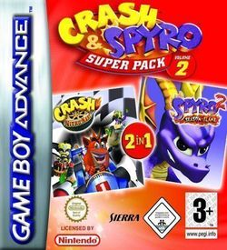 2 In 1 - Spyro 2 - Season Of Flame & Crash Nitro Kart ROM