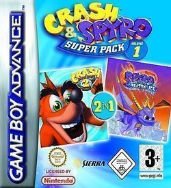 2 In 1 - Spyro - Season Of Ice & Crash Bandicoot 2 - N-Tranced ROM