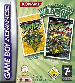 2 In 1 - Teenage Mutant Ninja Turtles Double Pack (sUppLeX) ROM