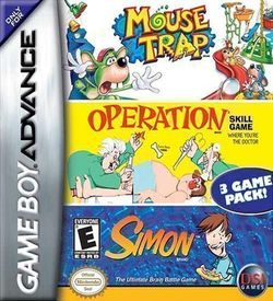 3 In 1 - Mousetra Simon Operation ROM