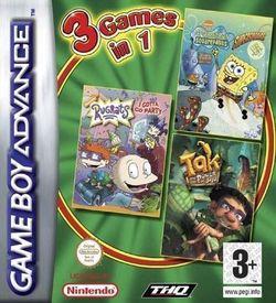 3 In 1 - Rugrats, SpongeBob, Tak ROM