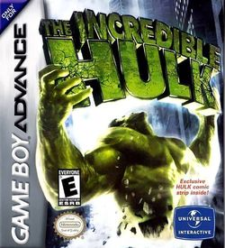 Incredible Hulk, The ROM