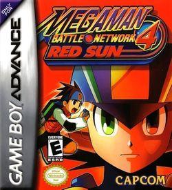 Megaman Battle Network 4 - Red Sun ROM