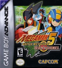 Megaman Battle Network 5 - Team Colonel ROM