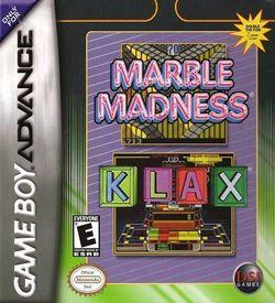 Marble Madness & Klax ROM