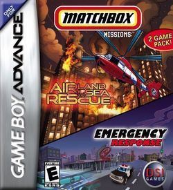 2 In 1 - Matchbox Missions - Emergency Response Air, Land & Sea Rescue ROM