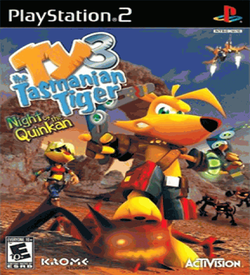 Ty The Tasmanian Tiger 3 - Night Of The Quinkan ROM