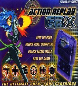 Action Replay GBX ROM