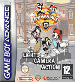 Animaniacs - Light Camera Action GBA ROM
