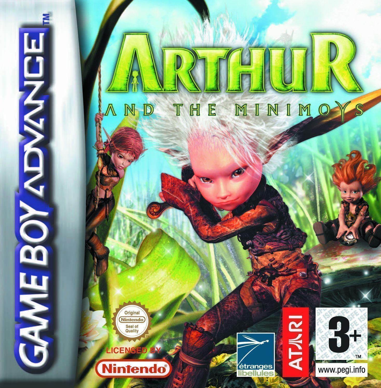Arthur And The Minimoys GBA