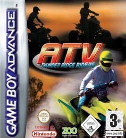 ATV - Thunder Ridge Riders GBA ROM