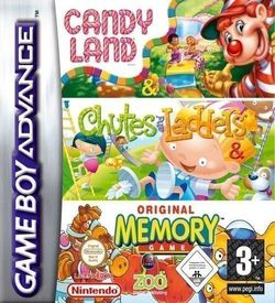 Candy Land & Chutes And Ladders & Memory GBA ROM