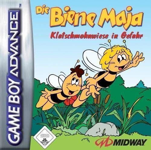 Die Biene Maja Klatschmohnwiese In Gefahr
