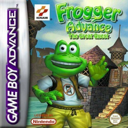 Frogger Advance - The Great Quest (LightForce)