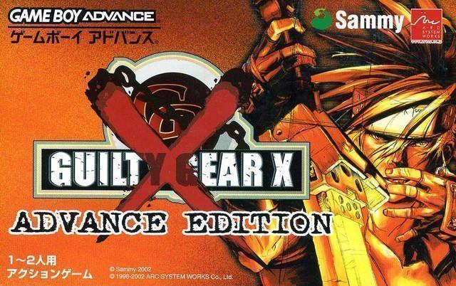 Guilty Gear X - Advance Edition (Eurasia)