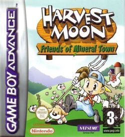 Harvest Moon - Friends Of Mineral Town (GBA) ROM