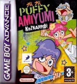 Hi Hi Puffy AmiYumi - Kaznapped ROM