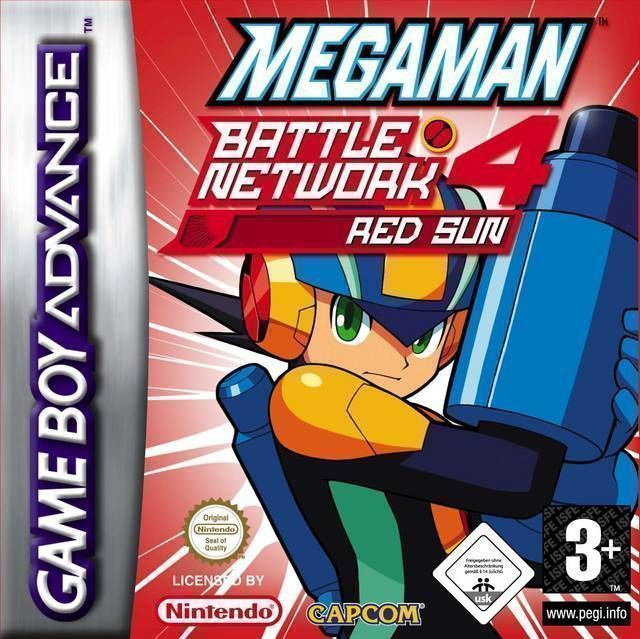 MegaMan Battle Network 4 Red Sun