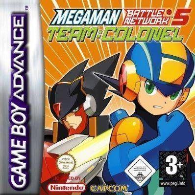 MegaMan Battle Network 5 - Team Colonel