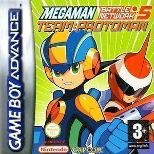MegaMan Battle Network 5 - Team Protoman
