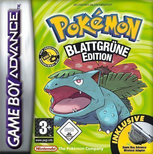 Pokemon Blattgrune
