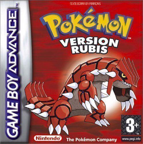 Pokemon Rubis (Paracox)