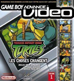 Teenage Mutant Ninja Turtles Volume 1 - Gameboy Advance Video ROM
