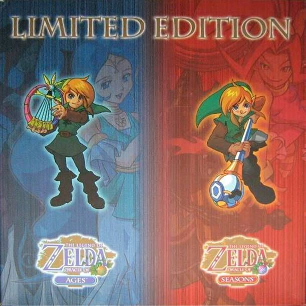Legend Of Zelda, The - Oracle Of Seasons