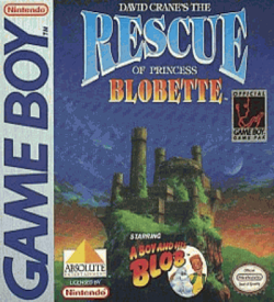 Boy And His Blob, A - The Rescue Of Princess Blobette ROM