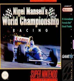 Nigel Mansell's World Championship '92 ROM