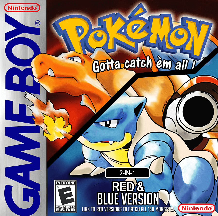 Pokemon Red-Blue 2-in-1 (Unl)