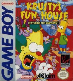 Simpsons, The - Krusty's Funhouse ROM