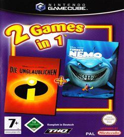 2 Games In 1 Disney Pixar Die Unglaublichen Disney Pixar Findet Nemo  - Disc #1 ROM